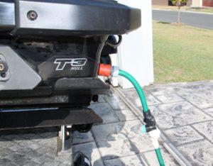 Tap on hose for FlushingJPG