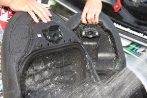wash under seats